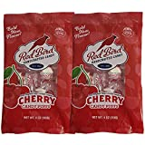 Red Bird Handcrafted Candy - Melt Away Cherry Candy Puffs - Two 4oz bags of the BOLD NEW FLAVOR