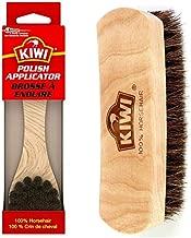 KIWI Shoe Shine Brush Variety Pack, 1 Polish Applicator, 1 Shine Brush, 100% natural horsehair bristles , 2 CT