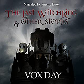 The Last Witchking audiobook cover art