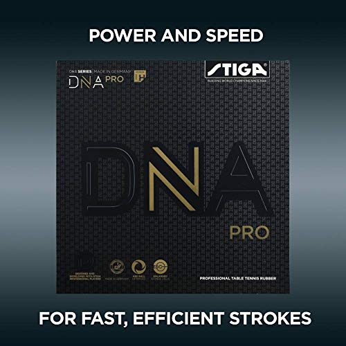 Buy Cheap STIGA DNA PRO H Table Tennis and Ping Pong Rubber, Choose Your Color & Thickness