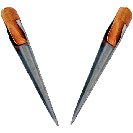 Shiwaki 2 Pack of 304SS Splicing Tools Spike FID for Rope Wire Dia 1//8 inch to 1//2 inch Small Size