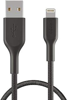Belkin Playa PMBK1002bt1MPBB Örgülü Lightning Kablo 1 Metre - Siyah
