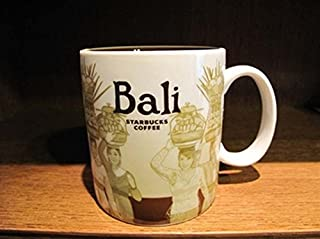 16oz Starbuck's Coffee mug cup City Collector Series - Bali