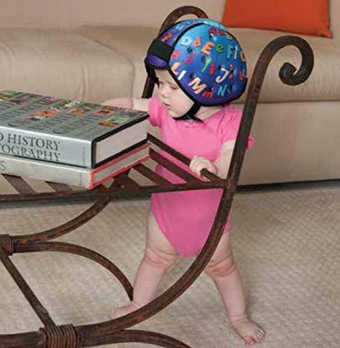 KidCo Noggin Nanny, Protective Baby Headgear, Soft Helmet for Babies Learning to Walk (Sky)