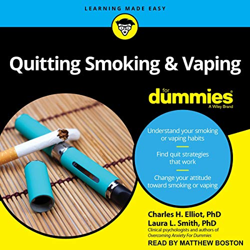 Quitting Smoking & Vaping for Dummies audiobook cover art