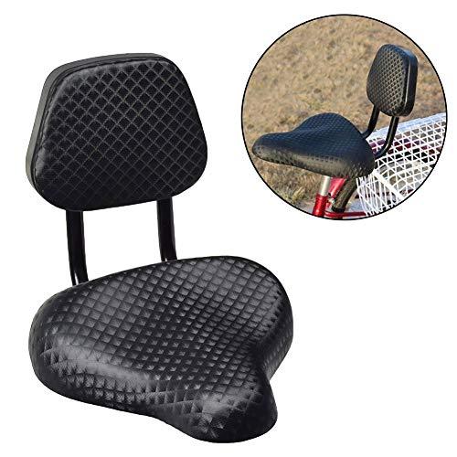 Denret3rgu Ciclismo Ancho Confort sillín de Bicicleta de Cu