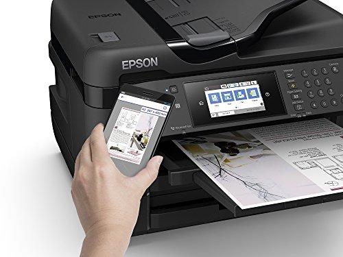 Epson Workforce WF-7720DTWF - Impresora, Color Negro, Ya Disponible en Amazon Dash Replenishment
