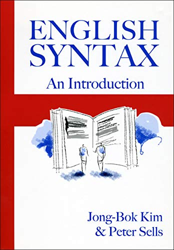 English Syntax: An Introduction (Studies in Computational Linguistics)