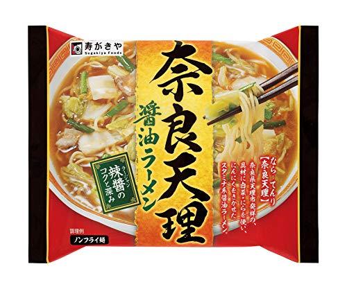 寿がきや 即席奈良天理醤油ラーメン 126g×12個