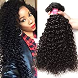 Jolia 8A Brazilian Curly Hair Weave 3 bundles a lot Thick Remy Human Hair Weft Non Chemical Process Natural Color 8 10 12 inch