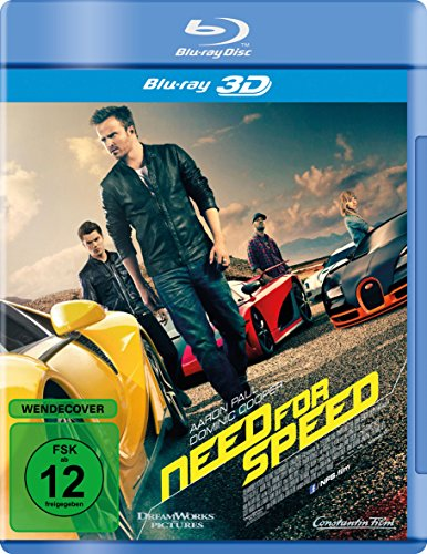Need for Speed [3D Blu-ray]