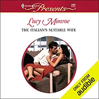 The Italian's Suitable Wife                   By:                                                                                                                                 Lucy Monroe                               Narrated by:                                                                                                                                 Lindsay Ellison                      Length: 5 hrs     410 ratings     Overall 3.5
