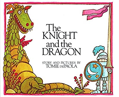 The Knight and the Dragon a classic and oh so amusing tale featuring - books!