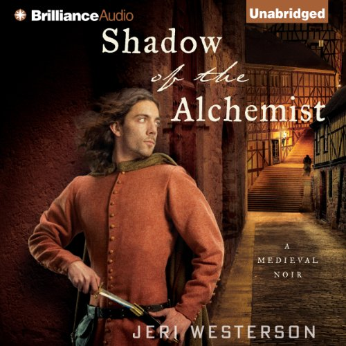 Shadow of the Alchemist audiobook cover art