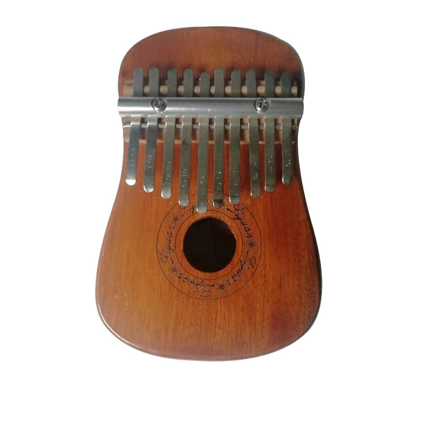 Kehuashina 10 Key Kalimba Thumb Piano Gourd Shape Finger Piano Mahogany Body 10 Tone