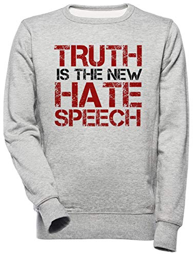 Truth Free Speech Political Offensive Liberty Freedom Unisex Mannen Dames Trui Sweatshirt Unisex Men's Women's Jumper