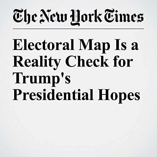 Electoral Map Is a Reality Check for Trump's Presidential Hopes cover art