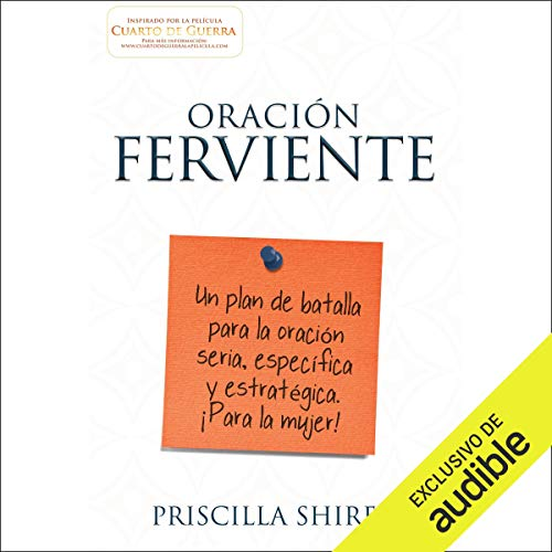 Oración ferviente [Fervent] audiobook cover art