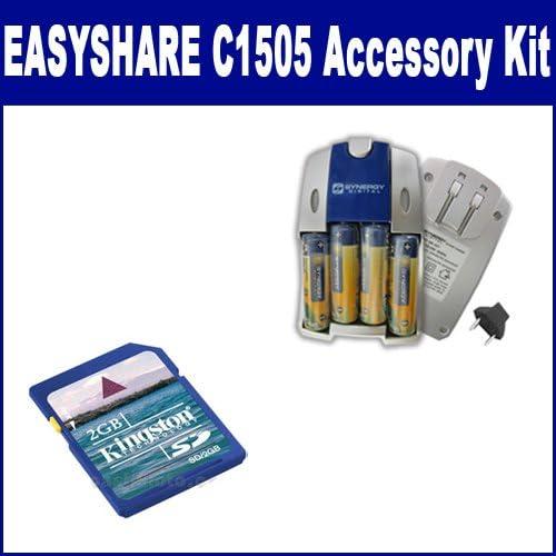 Kodak EASYSHARE Super Special SALE held C1505 Topics on TV Digital Camera SB2 Kit Includes: Accessory