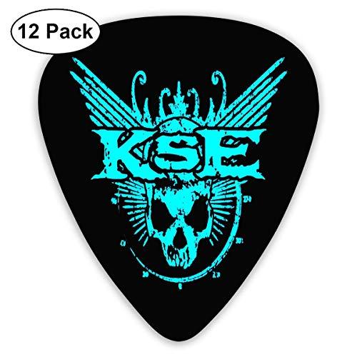 TUIU K_ill_s_wit_ch En_ga_ge Logo Guitar Picks (12er Pack) Für E-Gitarre, Akustikgitarre, Mandoline und Gitarrenbass