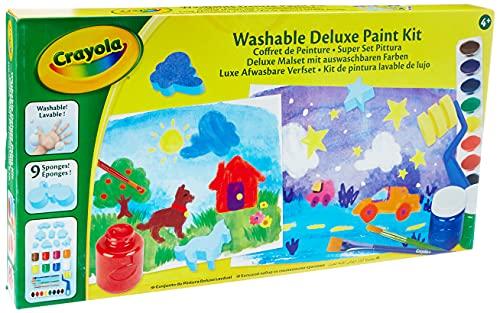 Crayola - Mon coffret de peinture - Loisir créatif - Kits d'activités - à partir de 4 ans - Jeu de dessin et coloriage