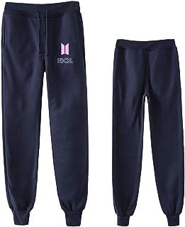 BTS ロングパンツ スポーツ 服装 韓流 コンサート 応援グッズ 綿 ファングッズ 男女兼用