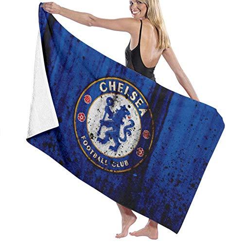 Custom made Chelsea Logo toallas de baño de microfibra 70x140 cm toalla de playa grande deportes toallas de camping accesorios
