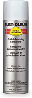 Rust-Oleum High Performance V2100 System Galvanizing Compound Aerosol, Cold 20 oz. Can - Lot of 6