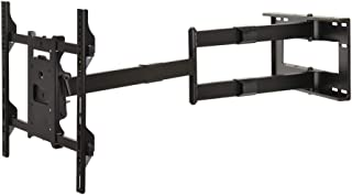 DQ Hero TV Wall Mount Black - 40 inch Long Extension - Recommended TV Size: 42-80 inch - VESA 100x100.200x200.400x400 mm - Full Motion/Swivel/Turnable/Tilt