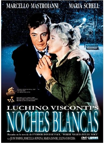 Weiße Nächte - Noches Blancas - Le Notti Bianche - Luchino Visconti - Maria Schell y Marcello Mastroianni - Audio: Spanisch, Italienisch. Untertitel: Deutsch, Englisch, Italienisch.