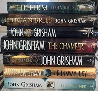 John Grisham Novels Set (7 hardcover novels)