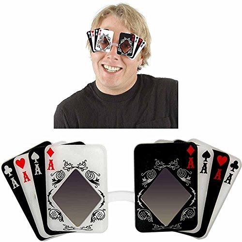Elope - S22401 - Déguisement - Accessoire - Lunette - Poker