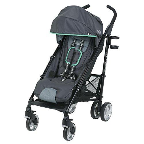 Graco Breaze Lightweight Stroller | Travel Stroller, Lake Green