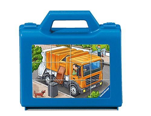 Ravensburger 00.007.406 puzzle - Rompecabezas (Rompecabezas con pistas dibujadas, Vehículos, Preescolar, 4 año(s), 160 mm, 190 mm) , color/modelo surtido