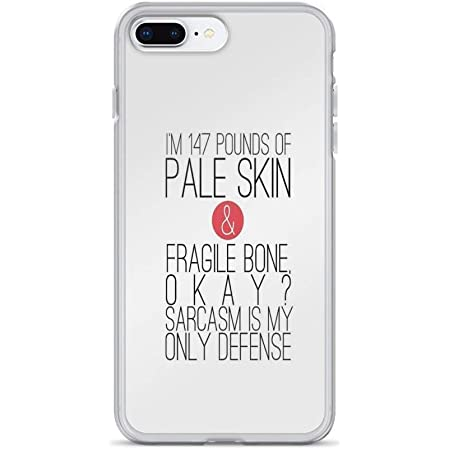 iPhone 7 Plus/iPhone 8 Plus Case Clear Anti-Scratch Teen Wolf - Sarcasm Cover Phone Cases for iPhone 7 Plus iPhone 8 Plus