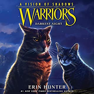 Warriors: A Vision of Shadows, Book 4: Darkest Night cover art