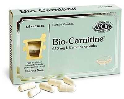 Pharma Nord 250mg Bio-Carnitine 125 Capsules