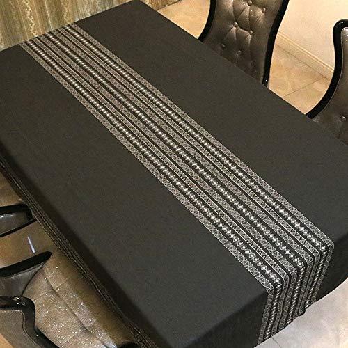 JBZP Home Mantel de tela para mesa, accesorios, moderno, minimalista, para comedor, sala de estar, mesa de café, gamuza de felpa, rectangular, tela de escritorio, impermeable y a prueba de aceite, 60 x 60 cm