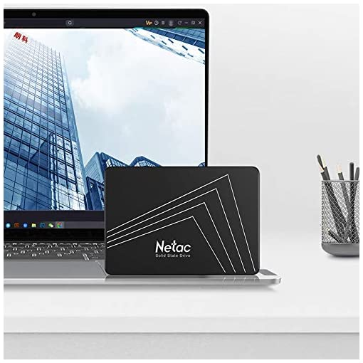 """Netac SSD 128GB, Disco Duro Estado sólido Interna, 3D NAND Flash Unidad, 2.5"""" SATAIII 6Gb/s, hasta 510MB / s con caché SLC para Notebook, Tableta, computadora de Escritorio y PC 6"""