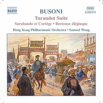 BUSONI: Turandot Suite / 2 Studies for Doktor Faust
