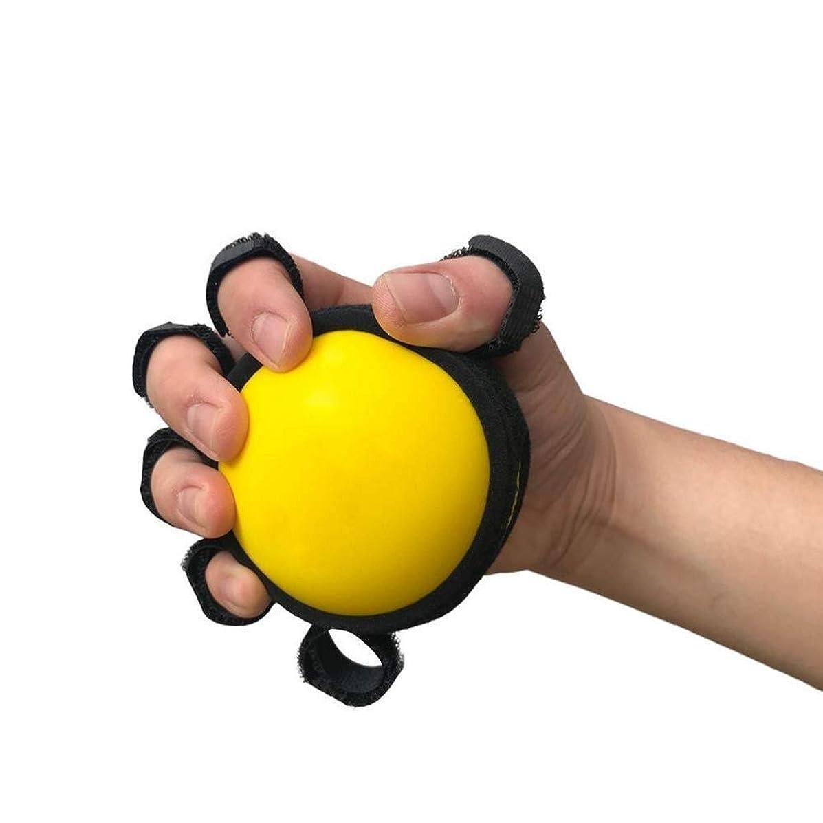 不満お強度ハンドセラピー運動ボール、脳卒中、片麻痺を軽減するための5本指分離ボールリハビリテーショントレーニング