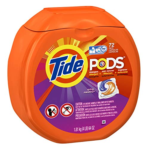 Tide Pods Spring Meadow Scent Laundry Detergent Pacs 72 Ct by Tide