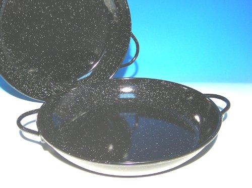 LA IDEAL Casserole émaillée, Noir, 18 cm, Lot de 12