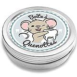 FANS & Friends Boîte à dents de lait pour garçons et filles, Coffret de rangement pour dents, Cadeau pour écolier, Petite Souris (bleu)