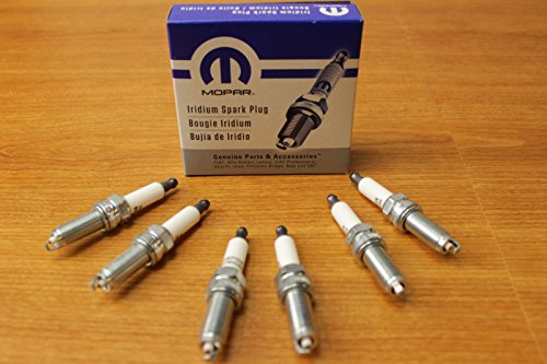 Price comparison product image Dodge Charger Promaster Jeep Wrangler Set Of Six (6) Spark Plugs OEM