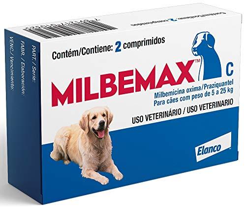 Milbemax C (5-25kg), 2 Comprimidos Elanco
