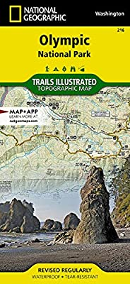 Olympic National Park (National Geographic Trails Illustrated Map, 216) from National Geographic Maps