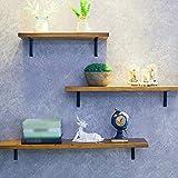(15,7'x 39,4' braun) Wandregale, Wanddekorationsregale sparen Platz, geeignet für Schlafzimmer, Wohnzimmer, Bad, Küche, Büro. Weitere Größenoptionen
