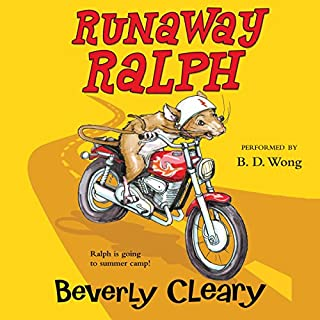 Runaway Ralph audiobook cover art
