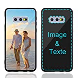 MXCUSTOM Coque Personnalisée Samsung Galaxy S10e, Personnalisable Anti-Rayures Verre Trempé...